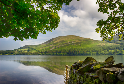 FRAMED LOWESWATER